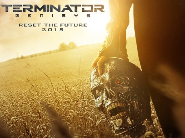 Terminator Genisys is a treat for the fans of Terminator series. PHOTO: TWITTER (@Reza2013Reza)