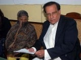 AAsia Bibi pictured with former Punjab governor Salman Taseer in 2010 PHOTO: AFP