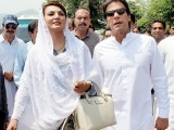 Reham will neither contest elections on PTI ticket nor attend party events: Imran PHOTO: ONLINE