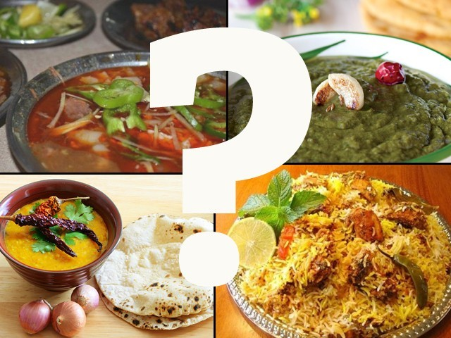 What is Pakistan's national dish? Hint: It's not daal roti