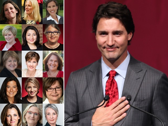 Is Justin Trudeau's cabinet as big a kick to sexism as imagined ...