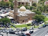 Vehicles all around a mosque on a Friday in Discovery Gardens, Dubai. PHOTO: Xpress/Francois Nel