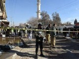 A loud blast followed by an explosion in Quetta on Wednesday left several persons dead. PHOTO: AFP