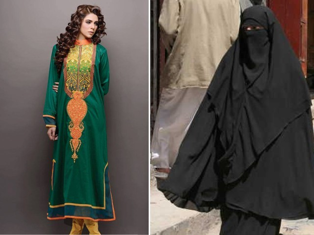 Our national dress is the shalwar kameez, not the niqab – The ...