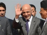 Afghanistan's President Ashraf Ghani asked leaders to try to reinvigorate regional cooperation. PHOTO: AFP