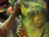 Consent is what needs to be addressed on Holi. Pichkari, gulaal, sexual innuendoes are fine only if the person is willing to play with you. Otherwise, do not bully them. PHOTO: AP