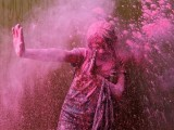 Consent is what needs to be addressed on Holi. Pichkari, gulaal, sexual innuendoes are fine only if the person is willing to play with you. Otherwise, do not bully them. PHOTO: REUTERS