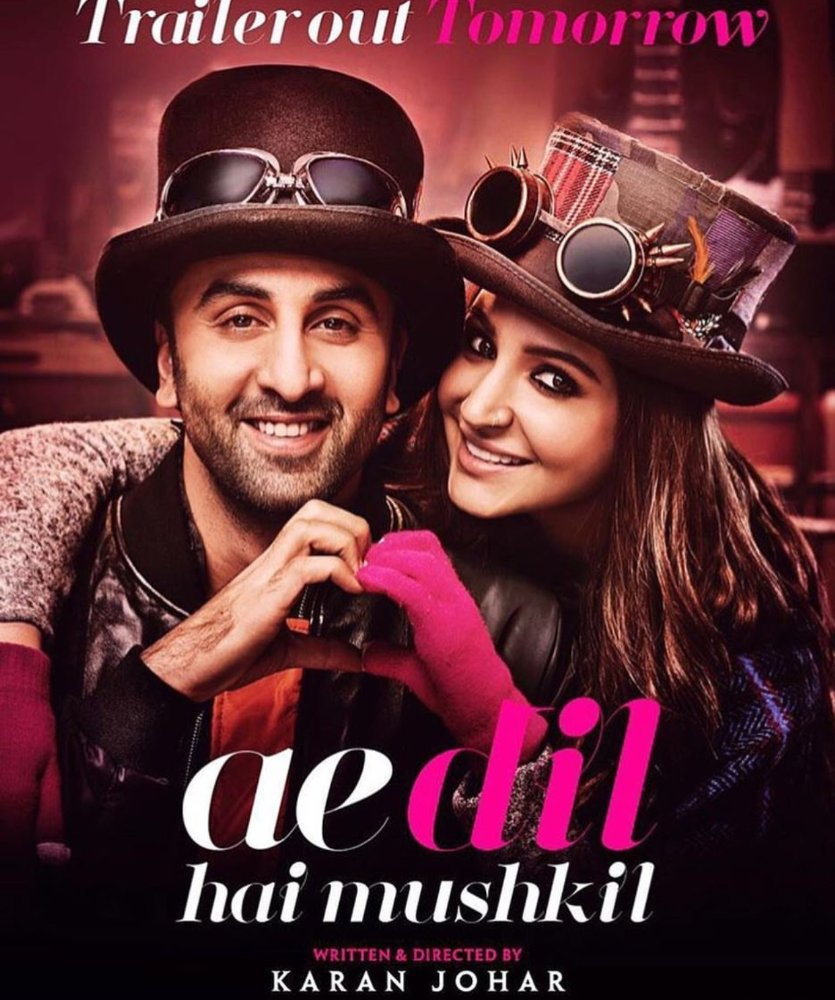 Ai Dil Hai Mushkil Hd Movie Online Free