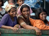The Rohingya only have their gratitude, dark skins, rickety bodies and battered souls to offer. PHOTO: AFP