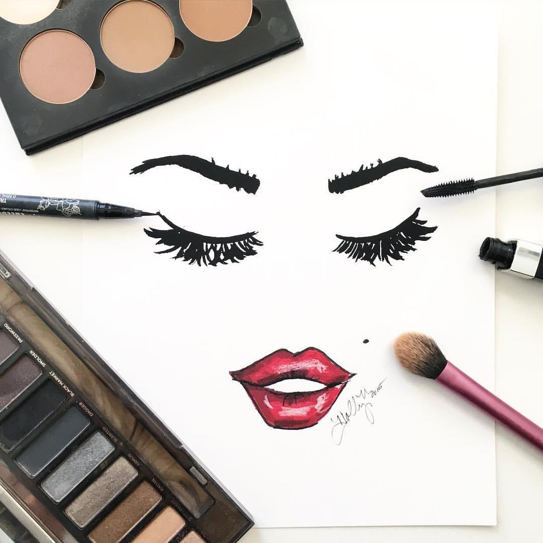 Как сделать профессиональный макияж вшопе
