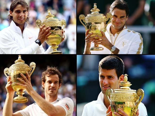 Federer and Djokovic play their opening matches at Wimbledon