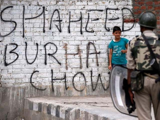 India orders Kashmir clampdown ahead of anniversary of militant killing