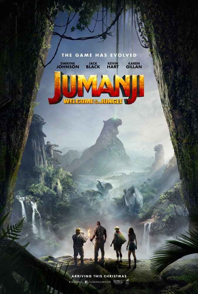 What's perhaps the most exciting and refreshing part about Jumanji 2: Welcome to the Jungle, (judging by its trailers) is how the film is clearly going for a deft mix of action, adventure and comedy. PHOTO: IMDb