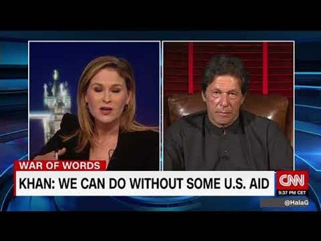 The problem with Imran Khan's CNN interview is his hypocrisy