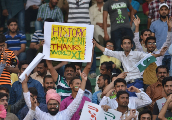 ICC backs return of worldwide matches in Pakistan