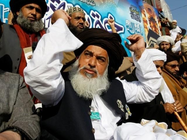 Image result for Khadim Hussain Rizvi, photos,