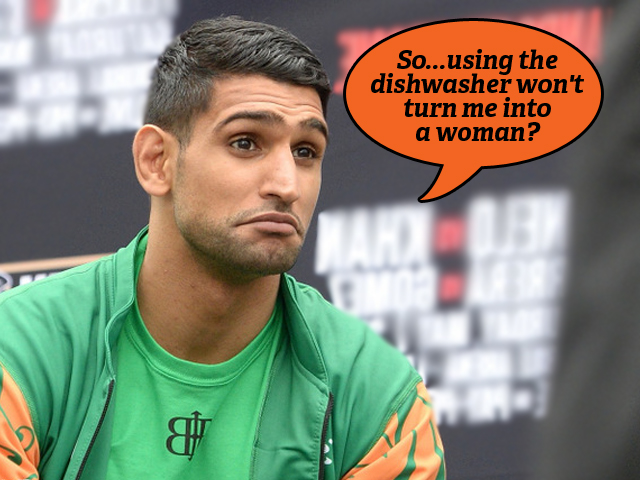 Amir Khan was trending yet again, this time for suggesting that cooking is only a woman's job, and on his part, he always avoids doing household chores because of the fear of transforming into a woman.