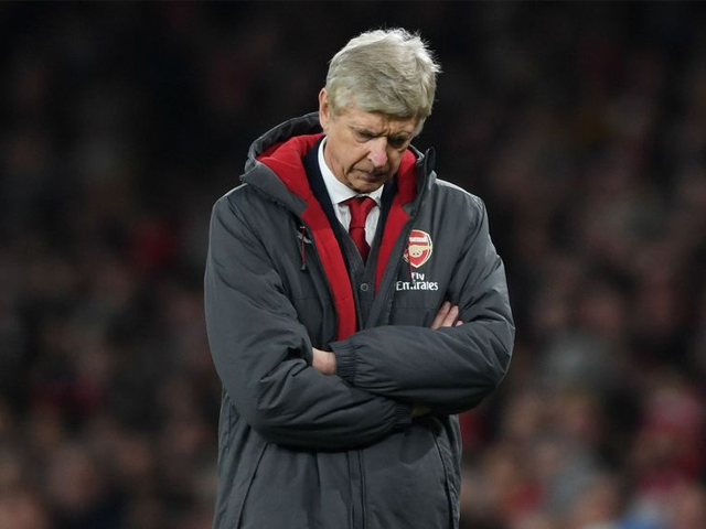The fallen giant: Arsenal is out of major leagues and has no one but itself and Arsene Wenger to blame for it