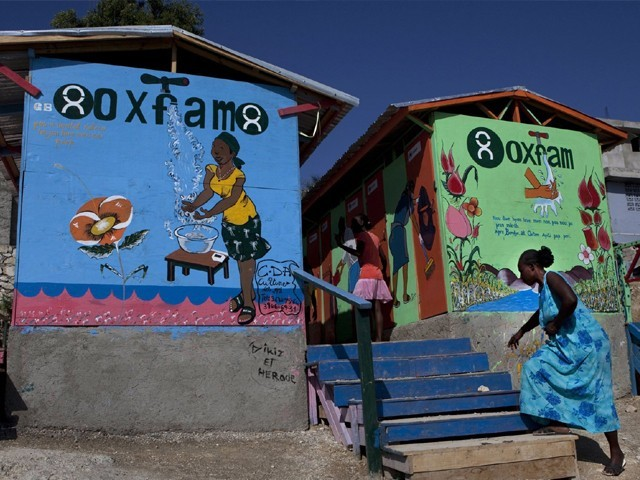 Haiti suspends Oxfam operations for two months