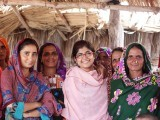 Seeing women participate in the community in Kech District is a very encouraging indication of moving towards women's empowerment in the rural areas of Balochistan. PHOTO: KHALIDA BROHI