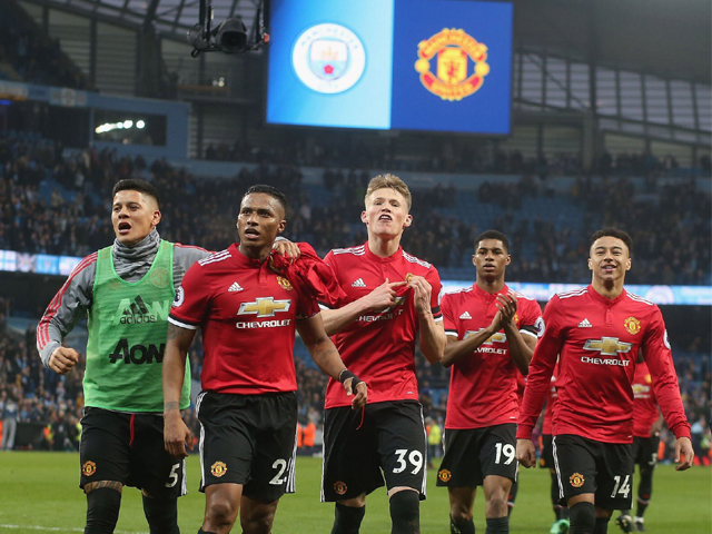 Manchester bleeds red: The Citizens may take the title but bragging rights will stay with the Red Devils