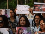 Citizens of Kolkata came together in solidarity for the eight-year-old rape victim in Kathua. PHOTO: GETTY