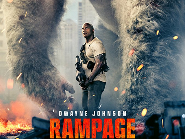 Rampage may be illogical, bizarre and outlandish, but it is definitely entertaining