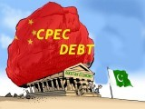 Many of the infrastructure projects are financed through debt. PHOTO: HAPPENINGINPAK