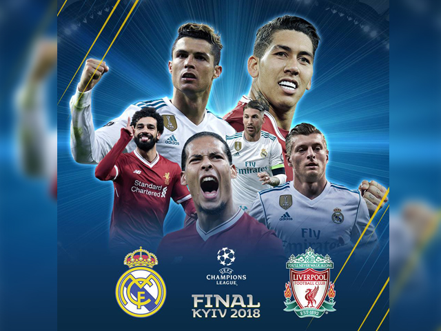 #UCLFinal: If Real Madrid have ice in their veins, then Liverpool have fire in their bellies