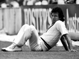 Imran Khan relaxes in the outfield. PHOTO: PA PHOTOS