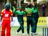 Pakistan looked every bit the champion side they are considered to be, outclassing Zimbabwe in all three facets of the game. PHOTO: AFP