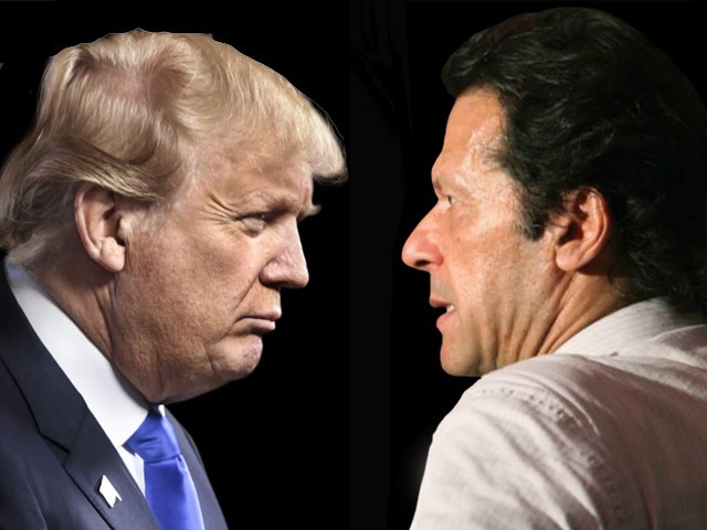 Image result for trump with imran khan