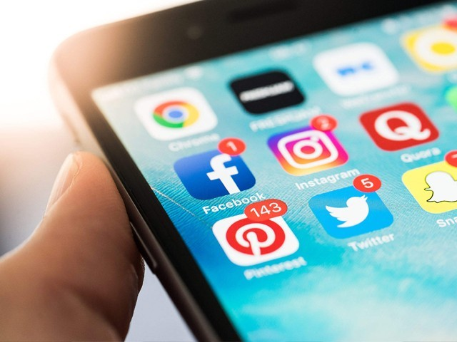 We do not realise just how damaging excessive social media use can be. PHOTO: PICJUMBO