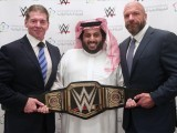WWE will air the Greatest Royal Rumble in Saudi Arabia on the WWE Network. PHOTO: WWE