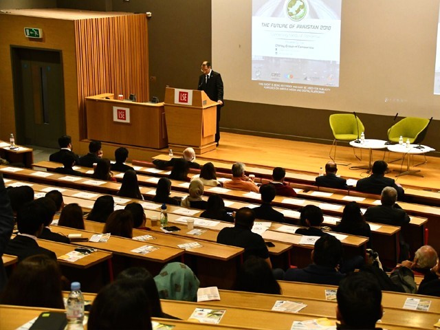 The Future of Pakistan Conference is the largest student run conference on Pakistan in the world, and the annual flagship event of the LSE Pakistan Development Society. PHOTO: HAMZA TARIQ