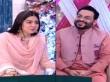 The worst of Aamir Liaquat was seen recently on Sanam Baloch's morning show, where he was a guest along with his second wife.