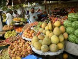 Prices of basic amenities such as wheat, sugar, pulses, vegetables and fruits go up right as Ramazan arrives. PHOTO: AFP
