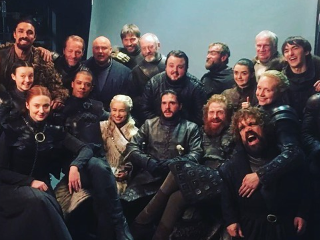I remember the love I have for the characters and the story and my heart bubbles in excitement. PHOTO:  EMILIA CLARKE/INSTAGRAM