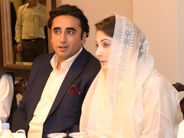 Both Maryam Nawaz and Bilawal Bhutto Zardari have proved their mettle in the opposition./ PHOTO: TWITTER/ PPP MEDIA CELL