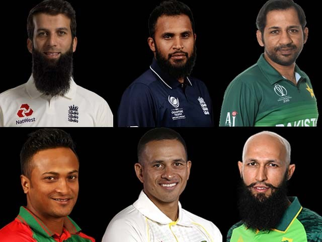 Seven out of the 10 teams competing in the World Cup consist of Muslim players.