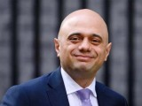 Home Secretary Sajid Javid leaves Downing Street following a cabinet meeting on March 25, 2019 in London, England. PHOTO: GETTY