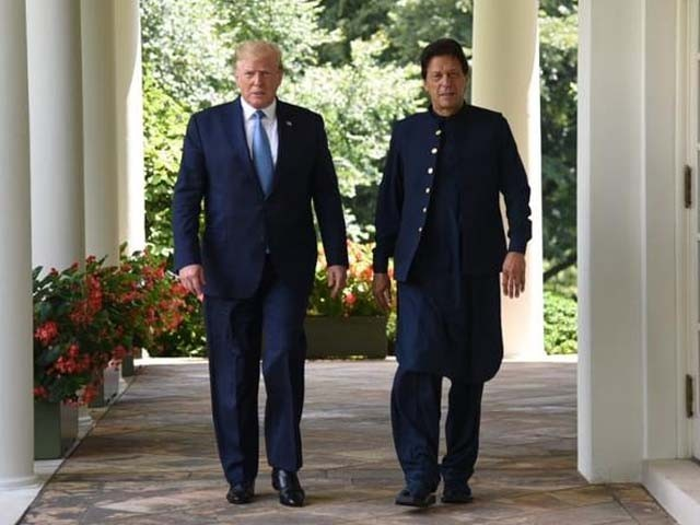 If Imran plays his cards right, chances are we might get lucky and see a new era of Pakistan-US relations. PHOTO: TWITTER/ PTI