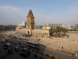 General view of the British era Empress Market building is seen after the removal of surrounding encroachments on the order of Supreme Court in Karachi, Pakistan January 30, 2019. PHOTO: REUTERS