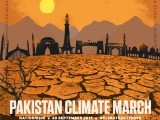 For the first time, there will be climate marches in Pakistan too in all the major cities on September 20th. PHOTO: RINA SAEED KHAN