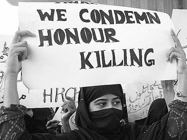 Nearly 1,100 women were killed in honour killings in Pakistan in 2015. PHOTO: REUTERS