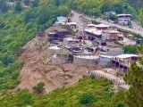 A view of the construction at Monal. PHOTO: TWITTER/MALIK AMIN ASLAM